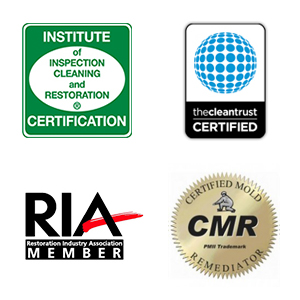 Cincinnati Restoration Certified Technicians